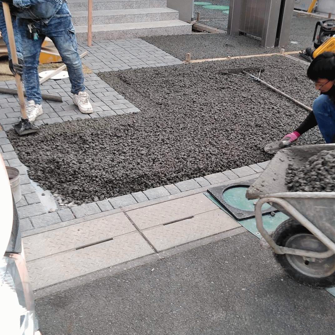 【静岡】「透水性コンクリート16年の普及活動の本質」ヤマトガーデン・長岡生コンクリート