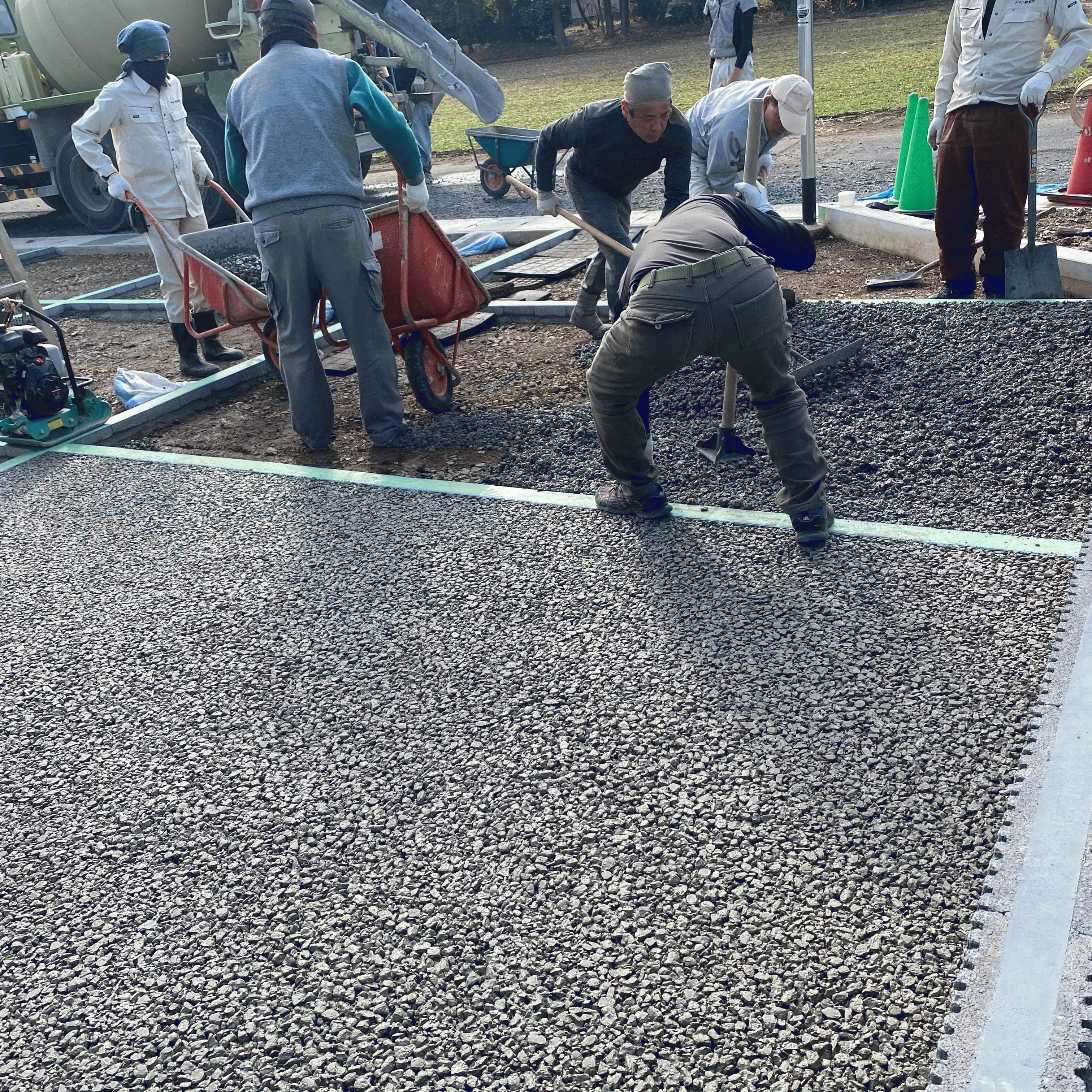 【栃木県】「材料が生コン車1台の折り返しになるからマスで分けて施工する」大木生コン・AG