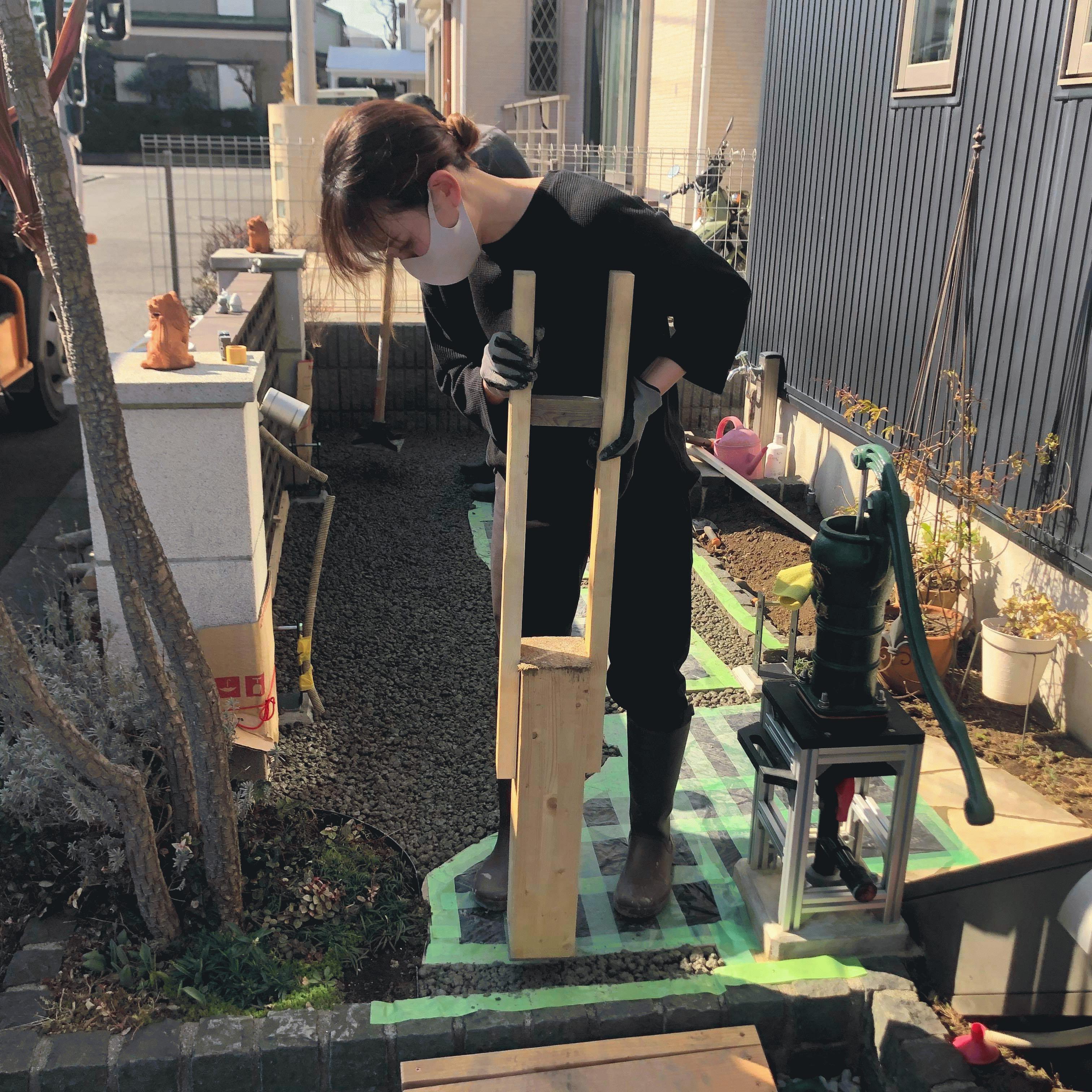 【神奈川】「お休みの日にエクササイズを兼ねてアルバイトをしませんか」伊藤知安商店・DIY