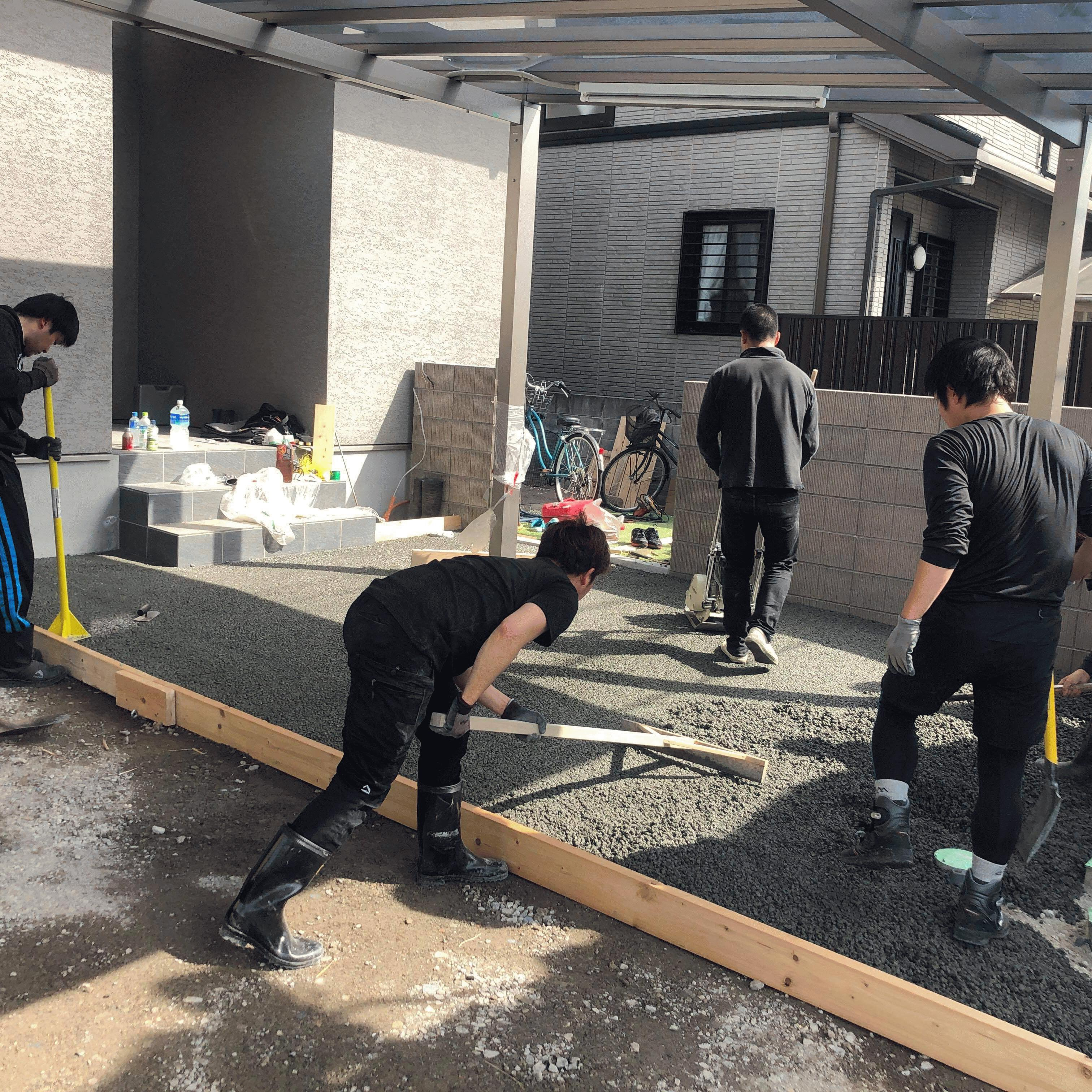 【兵庫】「施工の忙しい(超早い)ドライテックで人生を楽しもう」DIY