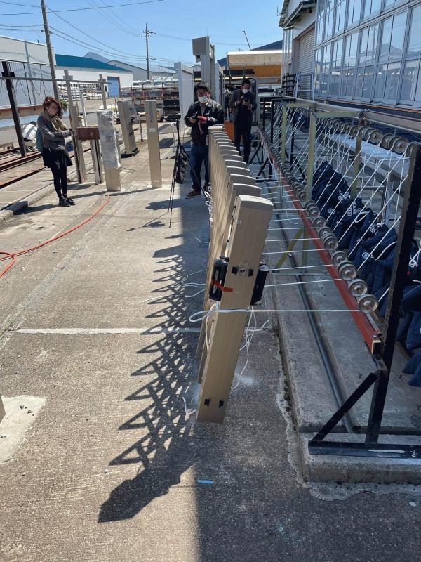 「カーテンゲートの舗装を兼ねた基礎としてドライテックは適応できるのか?」エクスショップ・TOKO #2