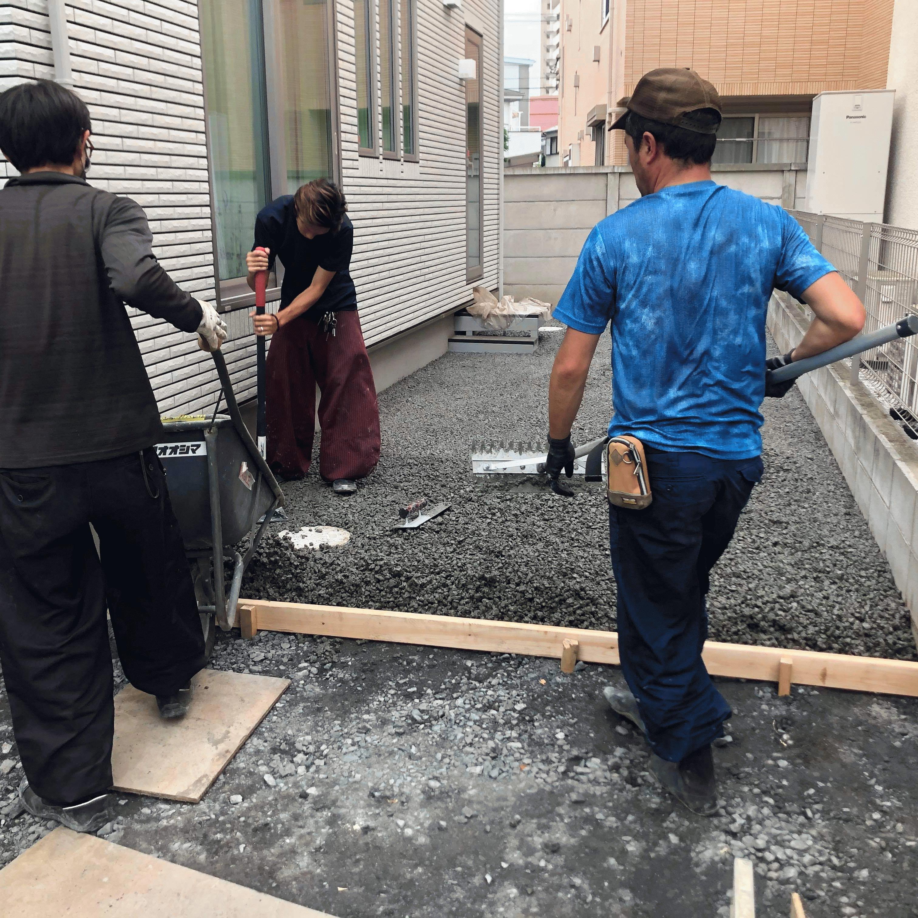 【東京】「勾配なしで施工できるから、シャコタン愛好者には受ける」「シャコタン車はスロープが大嫌い」都屋建材・エクステリア オオシマ