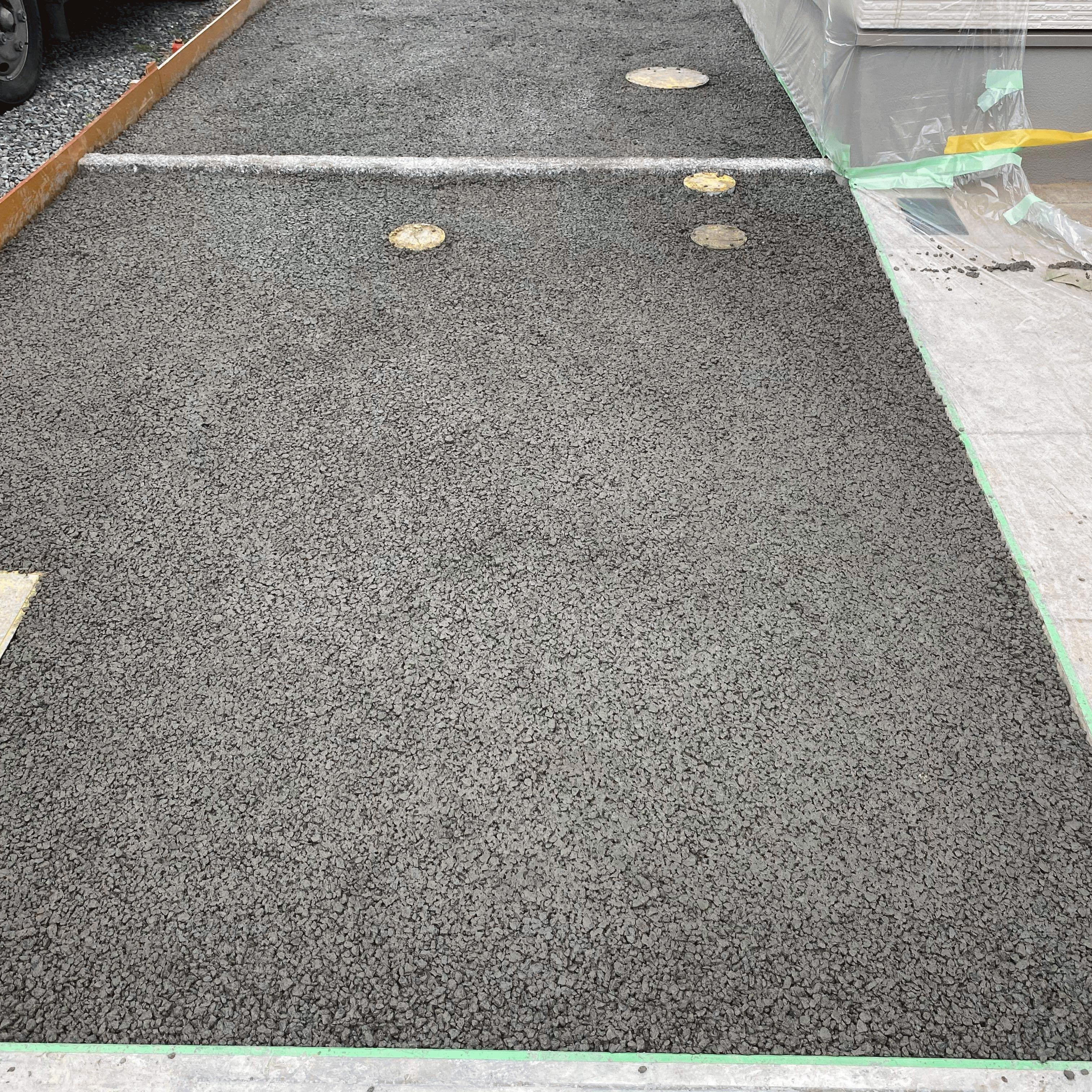 【岡山】「人ももう少したのんで増やします。平坦性は難しいですね!」麻生岡山生コンクリート・DIY