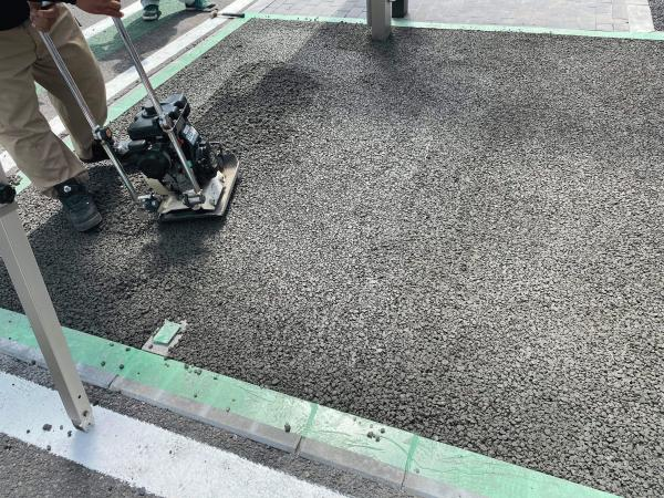 【茨城】「自社の展示場に施工の練習も兼ねてドライテックを」大里ブロック工業・SSスギヤマ