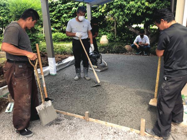 【埼玉】「駐車場もエクスショップでええやん」渋谷建材