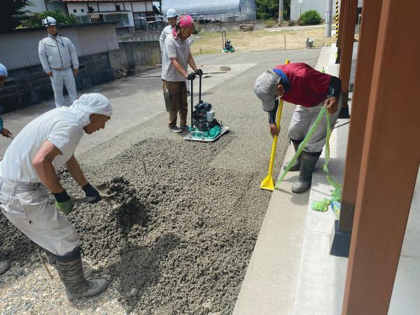 【福島】「水はけ、水たまりに悩んでいた時代があったらしいよ」青島建築・会津中央レミコン