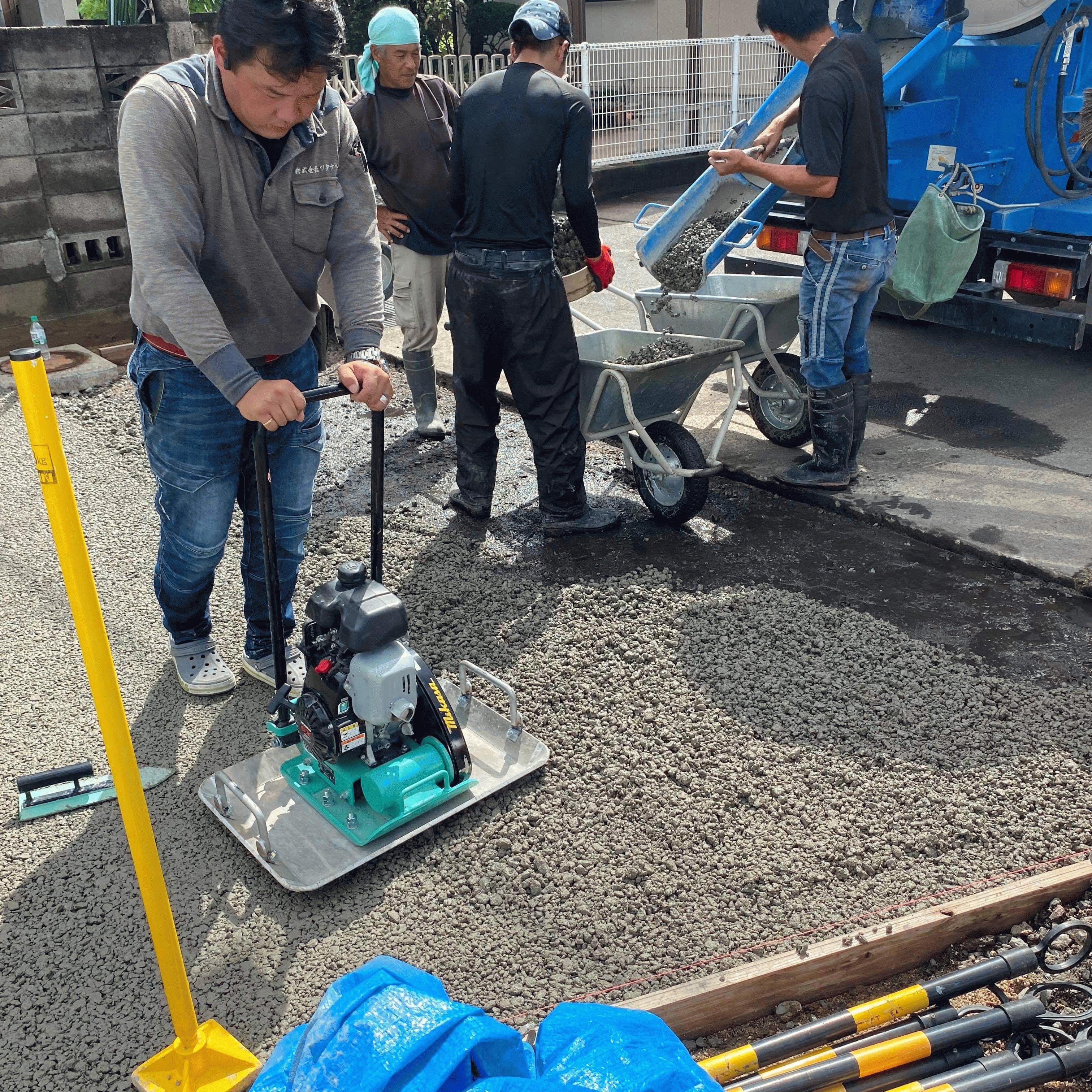 【香川】「『旗竿地で(排水のための)勾配が足りない』なんて悩みにも応える製造・施工ネットワーク」松尾建材・エクスショップ