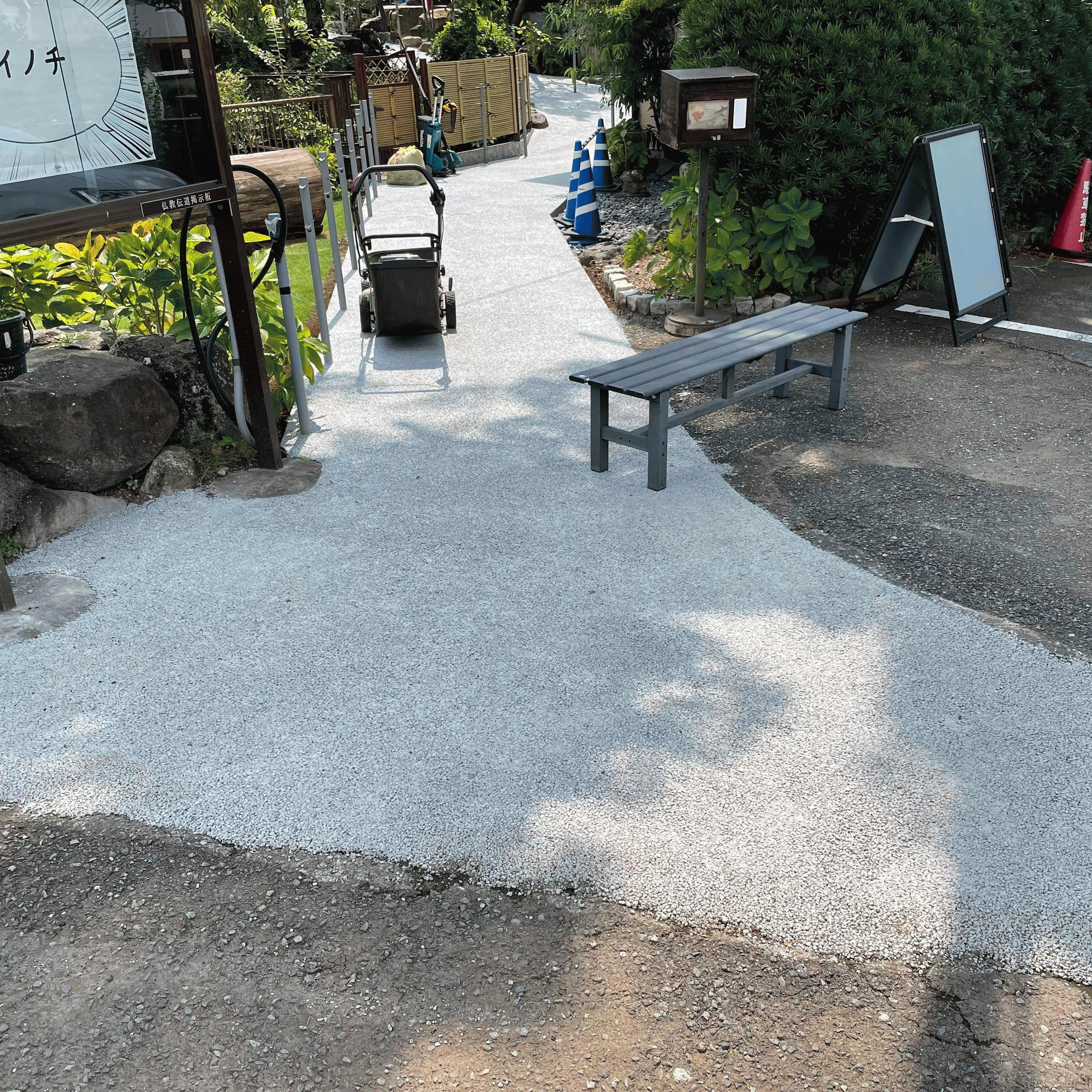 【静岡】「顔の位置が大人より低い子供やペットの体感温度は7度以上も高い」晴照造園