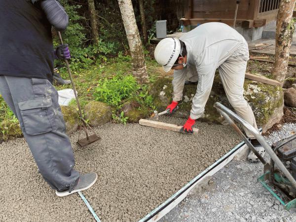 【栃木】「排水問題を解消できることを知っている地元の施工店に相談しよう」菊一生コン・ジャービス商事
