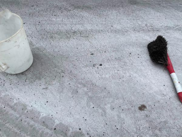 《洗ってみた》「既存土間にトップコートを塗るだけで、気軽にリフォームできちゃうよ!」エクスショップ・フッコー #3