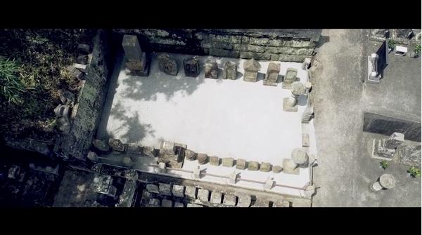 ご先祖様が眠るお墓まわりをドライテックDIYで「草むしりがいらない」コンクリートに