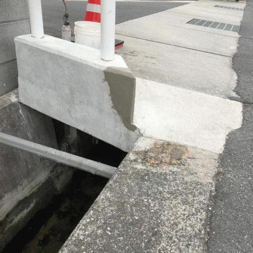 「コンクリートの見た目の補修もDIYしちゃおう」色合わせ補修・打ち放しペイント