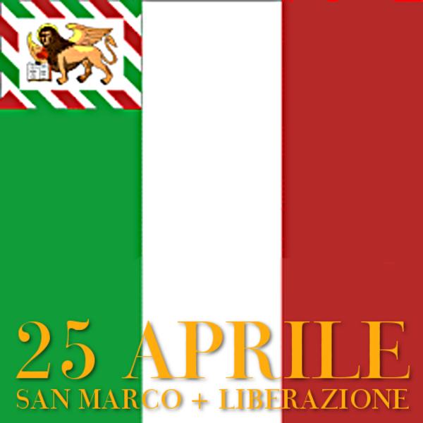 Festa della Liberazione + Festa di San Marco・イタリア解放記念日+サンマルコのお祭り(聖マルコの日)